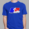 Stand Up League T-Shirt Blue PWC Jetski Ride & Race Apparel