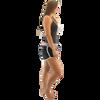 Spike Ladies Shorts - Grey PWC Jetski Ride & Race Apparel (Clearance)