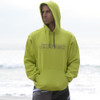 Men's Wire Hoodie - Neon Green PWC Jetski Ride & Race Apparel