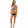 Morocco Marilyn Bikini 2pc Set - Black/White PWC Jetski Ride & Race Swimwear