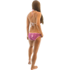 Ildi Triangle Bikini 2pc Set - Pink & Black (Large Only - Clearance)