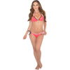 Brady Triangle Bikini 2pc Set - Pink/Orange | Closeout Size Large Only