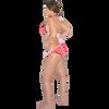 Brady Triangle Bikini 2pc Set - Pink/Orange PWC Jetski Swimwear