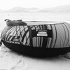Display Clearance - Donut Towable | 1 Person | Spike Black / White | Inflatable Tube PWC Jetski