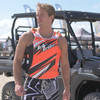 USCG Sharpened Neon Orange | Customization Option | Side-Entry Vest PWC Jetski Race