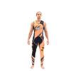 Sharpened Neon Orange Wetsuit | 2 Piece Set | John & Jacket | PWC Jet Ski Ride & Race