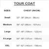 Sharpened Tour Coat - Blue | (Size Small Only) | Closeout