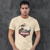 Tropic T-Shirt - Tan PWC Jetski Ride & Race Apparel