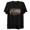 Stand-up Scene T-Shirt - Black PWC Jetski Ride & Race Apparel