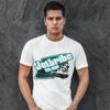 Slant T-Shirt - White PWC Jetski Ride & Race Apparel