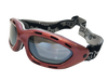 Classic Berry Red/Smoke Lens Goggles PWC Jetski Ride & Race