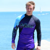 Hyper Rashguard Purple / Teal  - PWC Jetski Ride & Race Apparel
