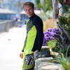 Hyper Rashguard Long Sleeve Shirt | Green | UV Protection Swim Shirt