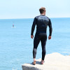 Hyper Black Wetsuit | 2 Piece Set | John & Jacket | PWC Jet Ski Ride & Race