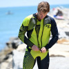 Hyper Green Wetsuit | 2 Piece Set | John & Jacket | PWC Jet Ski Ride & Race (Pre-Order)