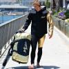 24K Tour Coat Gold /Black | Oversized Neoprene Jacket | PWC Jet Ski Ride & Race Gear