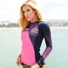 Ladies Cut Hyper Rashguard Pink | PWC Jetski Ride & Race Apparel