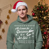 """""""All I Want for Christmas is a Jet Ski"""" Hoodie Sweatshirt - Holiday Limited Edition"""
