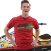 Jettribe Winter T-Shirt   Cardinal Red   Closeout - Sizes Small & Medium   Holiday Gift Idea
