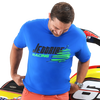 Jettribe Winter T-Shirt | Royal Blue | Holiday Gift Idea