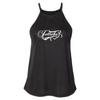 Ladies Tank Flourish | T-Shirt Black | PWC Jetski Ride & Race Apparel