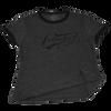 Ladies Tee Flourish | T-Shirt Grey/ Black | PWC Jetski Ride & Race Apparel