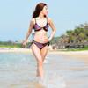 Stripe Triangle Bikini Bottom Only | PWC Jetski Swimwear