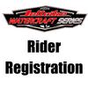 Rider Registration - Sulphur Springs Watercraft Series