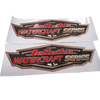 Jettribe Watercraft Series Decals | Limited Edition | Set of 2 - Sized 10.5 Inches | PWC Jetski Race Accessories