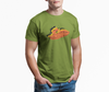 Sitdown Retro Men's T-Shirt | Lime Green | PWC Jetski Ride & Race Apparel
