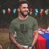 Sitdown Flag Men's T-Shirt | Military Green | PWC Jetski Ride & Race Apparel