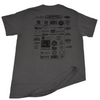 Jettribe Texas Watercraft Series Men's T-Shirt | Grey | PWC Jetski Ride & Race Apparel