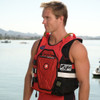 RS-25P Side Entry Impact Vest | Red | Customization Option | PWC Jet Ski Ride & Race