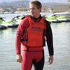 UR-20P Team Rider Vest | Red | Comfort EVA Foam | Custom Name Option