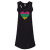 I Heart PWC Ladies Cover-Up Dress   Black   Jet Ski Riding & Swim Apparel