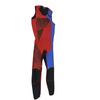 Sample -  Hyper Blue/Red/Black Wetsuit | 2 Piece Set | John & Jacket