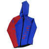 Sample - Team Rider Hybrid Wetsuit Jacket | Blue / Red | Hooded Jacket