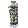 Display for PWC Goggles: Display Stand Fixture