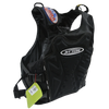 RS-16 Side-Entry Black Life Vest | Impact Chest Protection | PWC Jetski Ride & Race Jacket