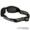 Stealth Hybrid Goggles/ Sunglasses Matte Black- Back