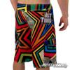 Men's Shockwave Multi-Colored Board Shorts (Back-Right)