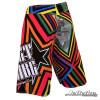 Men's Shockwave Multi-Colored Board Shorts (Back-Left)