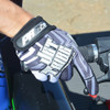 Youth Gloves GP-20 Black /Grey (Kids Size Small) | Final Clearance