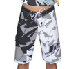Shattered Men's Board Shorts Grey (Size 28 Only) PWC Jetski (Clearance)