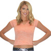Wimbledon Ladies Swim Shirt T-| Orange T-Shirt Junior Youth Fit | Closeout