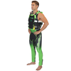 RS-17.2 Side Entry Race Vest Green PWC Jetski Race Gear