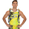 USCG Shattered Side-Entry Vest Yellow/Green   Size Small/Medium Only   Closeout