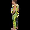 USCG Shattered Side-Entry Vest Yellow/Green PWC Jetski Race