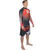 Longsleeve Classic Rashguard - Red PWC Jetski Ride & Race Apparel