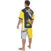 Men's Pit Shirt Ripped Yellow (Medium Only) Clearance